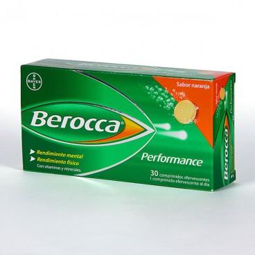 BEROCCA PERFORMANCE COMP EFERVESCENTES  NARANJA 30 COMP EFERV